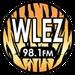 EZ 98.1 - WLEZ-LP Logo