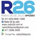 Radio 26 de Julio Logo