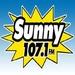 Sunny 107.1 FM - W296BS Logo