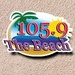 105.9 the Beach - KTLB Logo