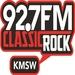 92.7 Classic Rock - KMSW Logo