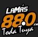 La Más 88.0 Logo