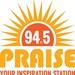 Praise 94.5 - WVGB Logo