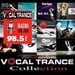 FM 98.5 Stereo -  The Best in Vocal Trance Logo