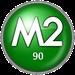 M2 Radio - M2 90 Logo