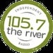 105.7 The River - WLKC Logo
