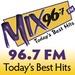 Mix 96.7 FM - KNMB Logo
