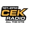 CEK FM 101.2 Logo