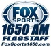 FOX Sports Radio 1650 - KBXZ Logo
