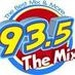 93.5 The Mix - KCVM Logo