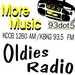 More Music 93.5 FM - KBKG Logo