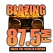 Blazing 87.5 FM Logo