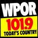 Today's Country - WPOR Logo