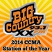 Big Country 93.1 - CJXX-FM Logo