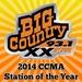 Big Country 93.1 - CJXX-FM Logo