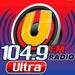 Ultra 104.9 FM - XEPRS Logo