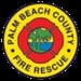 Palm Beach County, FL Fire, Rescue Logo