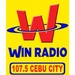 107.5 Win Radio Cebu - DYNU Logo