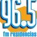 Radio Residencias 96.5 FM Logo