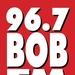 96.7 Bob FM - KNOB Logo
