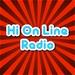 Hi On Line Radio - Gold Logo