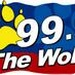 99.9 The Wolf - WBQQ Logo