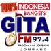 Radio Gita FM Jombang Logo
