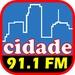 Rádio Cidade 91.1 FM Logo