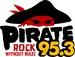 Pirate 95.3 - WOBR-FM Logo