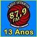 Rádio Interativa FM 87.9 Logo