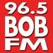 96.5 Bob FM - WFLB Logo