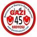 Gazi 45 Radyo Su Logo