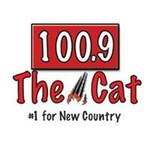 100.9 The Cat - WKLI-FM Logo