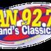Van 92.7 - WYVN Logo