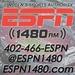 ESPN Radio 1480 - KLMS Logo