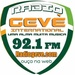 Radio Geve International 92.1 FM Logo