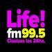 LIFE! FM 99.5 Logo