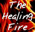 Healing Stream Media Network - The Healing Fire Logo