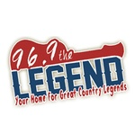 96.9 The Legend - WDJR Logo
