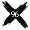 X-96 - KXRK Logo