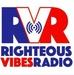 Righteous Vibes Radio (RVR) Logo