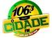 Rádio Cidade FM 106.3 Logo