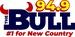 94.9 The Bull - WMSR-FM Logo