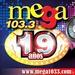 Mega 103.3 FM Logo