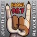 K-HOWL - KHWL Logo