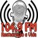 Rádio Restauração e Vida FM Logo