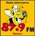 Rádio 87.9 FM de Meleiro Logo