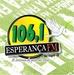 Esperança FM 106,1 Logo