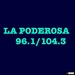 La Poderosa 96.1 & 104.3 - KBEX Logo