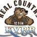 Real Country 92.9 - KYBR Logo